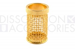 10 mesh gold plated basket for distek