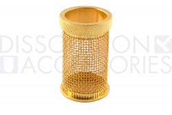 20 mesh gold plated basket for distek