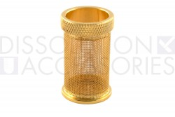40 mesh gold plated basket for distek