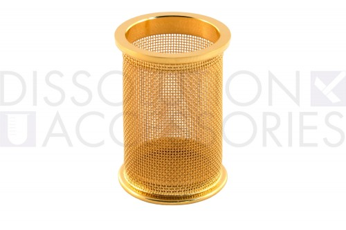 40 Mesh gold plated basket for electrolab