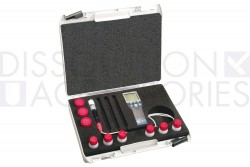 Portable pH meter kit including Epoxy pH electrode with built-in ATC (IP67) for measuring pH
