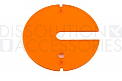 PSCOVERV-02-Amber-cover-with-paddle-slot-Agilent