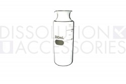 PSFLEAK-500--Dissolution-Accessories-Glass-Fleaker-500mL